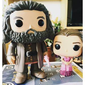Muñecos Funko Pop! de Hagrid y Hermione