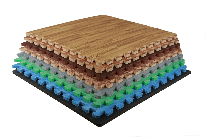 Interlocking Foam Wood Flooring