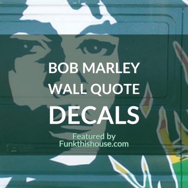Bob Marley Wall Decals