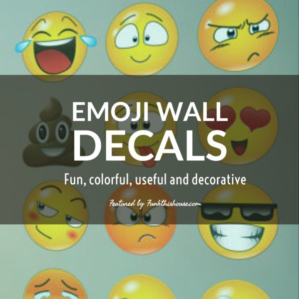 Smiley Face Wall Decals