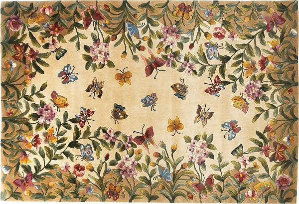 FunkN Nature With Butterfly Area Rugs Funk This House