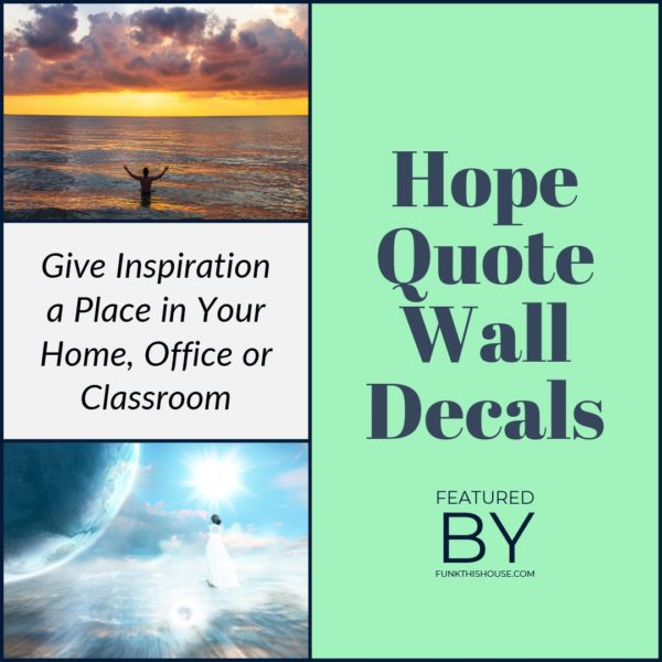Hope Quote Wall Decals