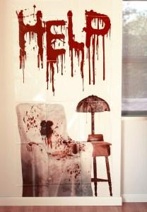 Bloody Halloween Decor