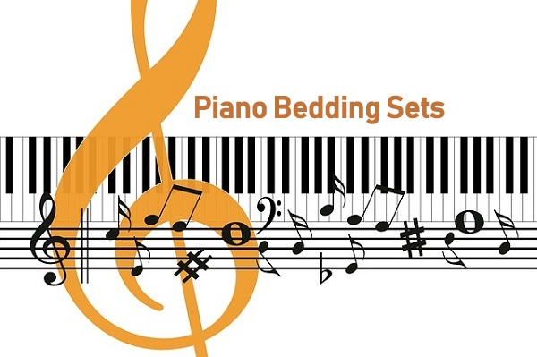 Artistic Piano Bedding Sets