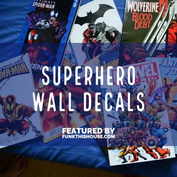 Superhero Wall Decals