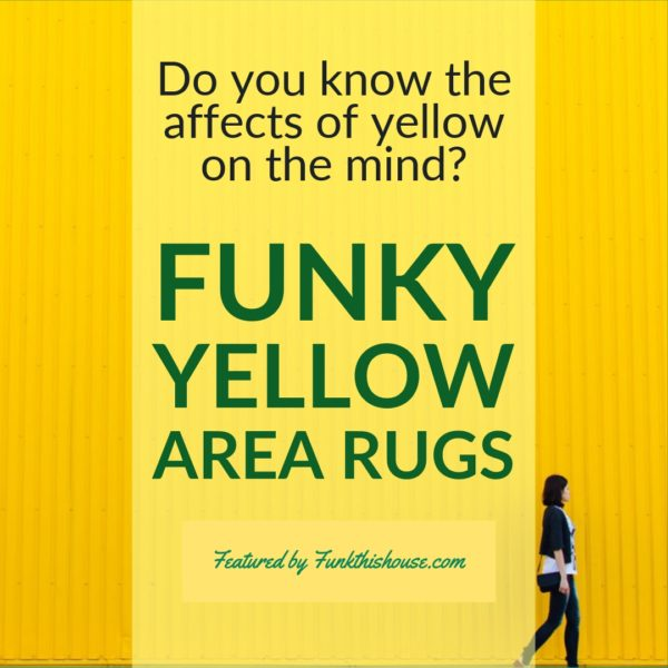 Yellow Area Rugs