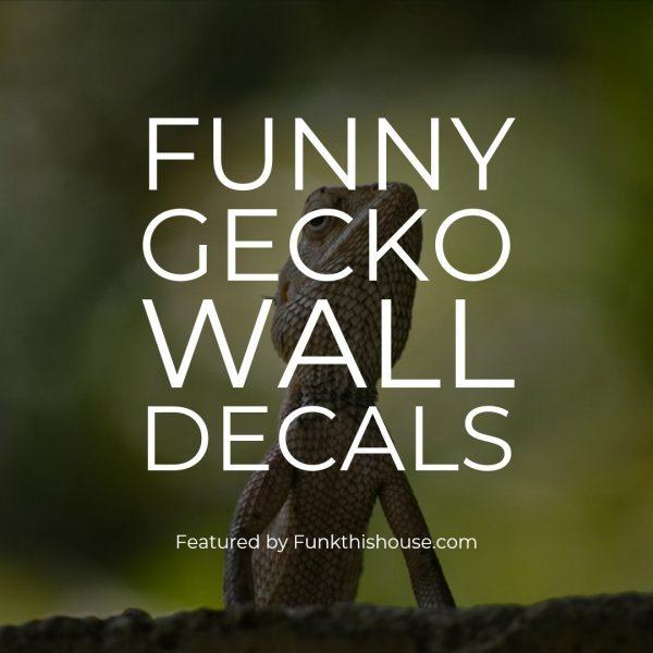 Gecko Wall Decals