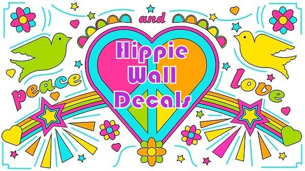 Hippie Wall Decals