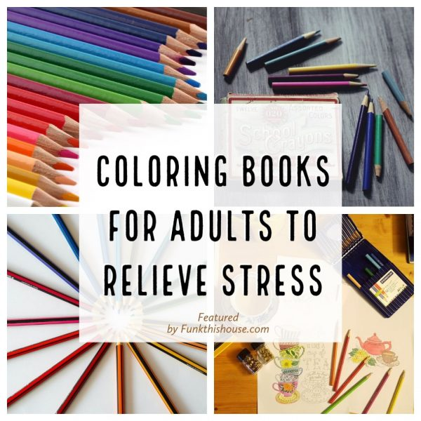 Stress Coloring Books for Adults