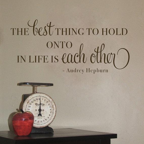 Audrey Hepburn Wall Decals