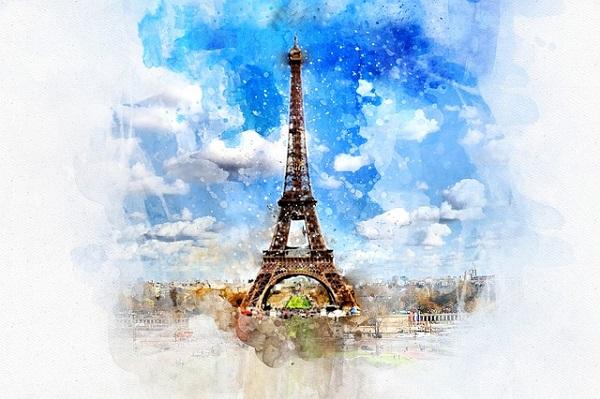 Eiffel Tower Walls Decals