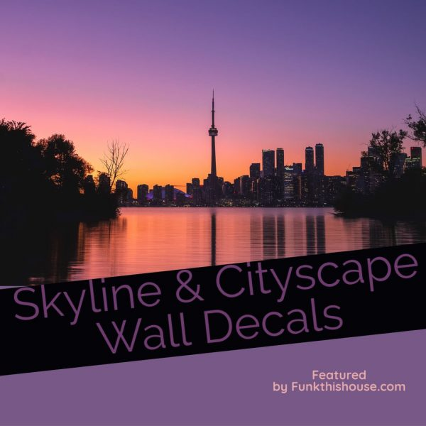 Skyline and Cityscape Wall Decalsll