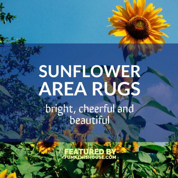 Sunflower Area Rugs