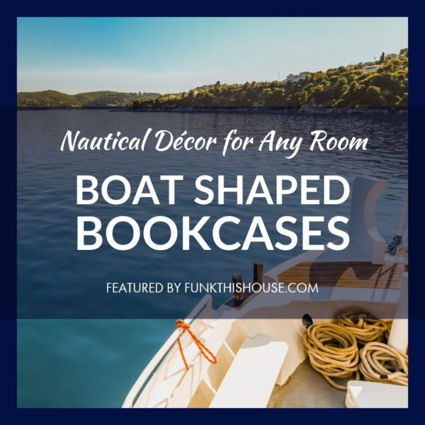 Boat Shaped Bookcases