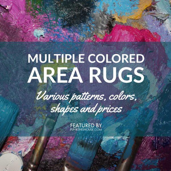 Multi-Colored Area Rugs