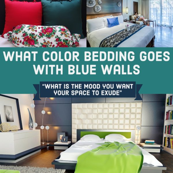 What Bedding Goes with Blue Walls