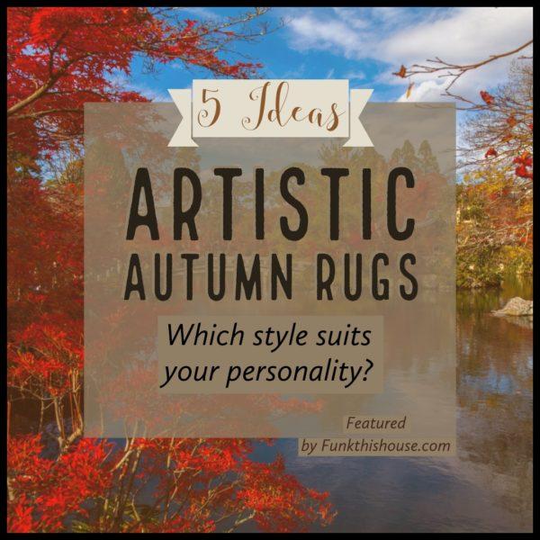 Artistic Autumn Area Rugs