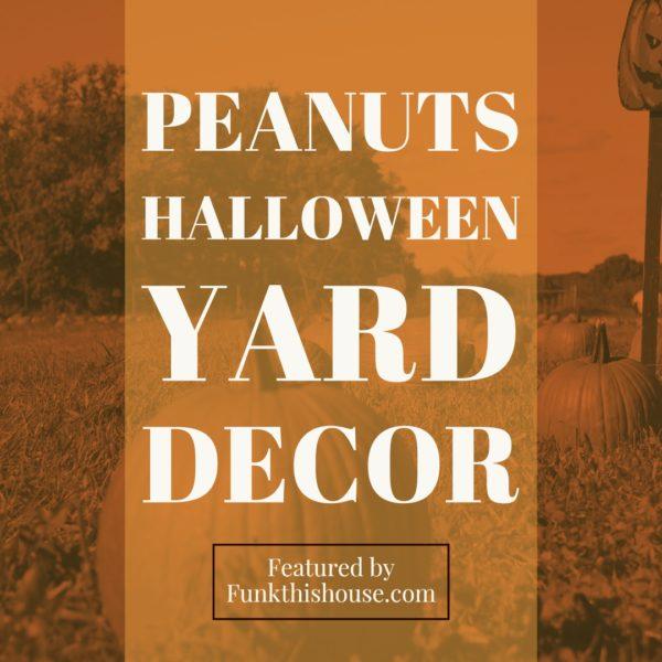 Peanuts Halloween Decor