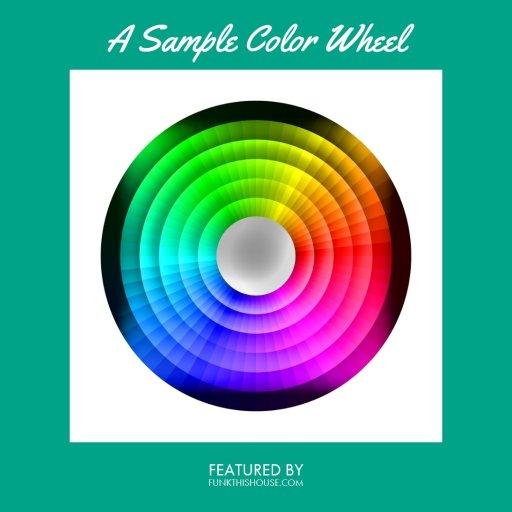 Color Wheel Featured on Funkthishouse.com