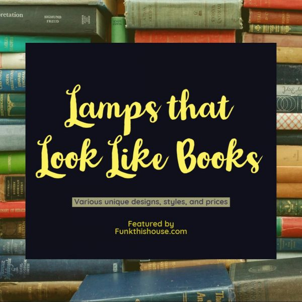 Book Themed Lamps