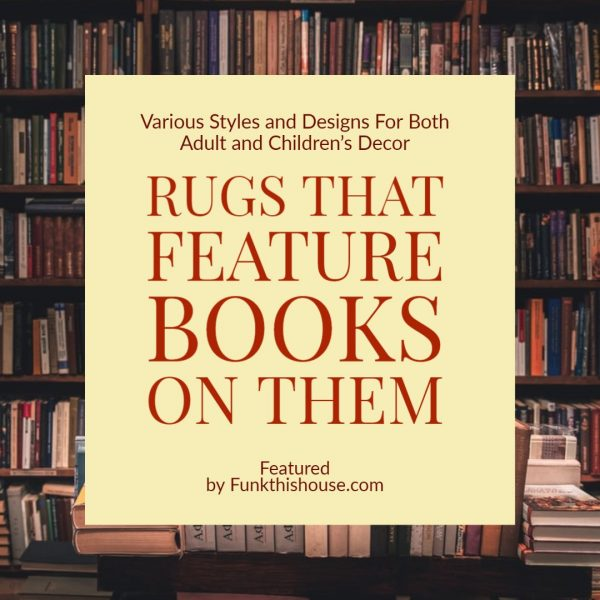Rugs with Books Featured on Them