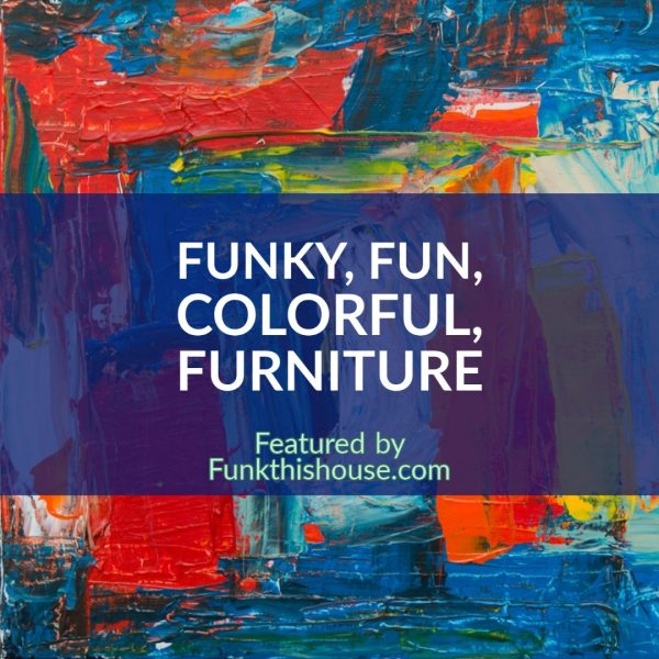 Funky Colorful Furniture