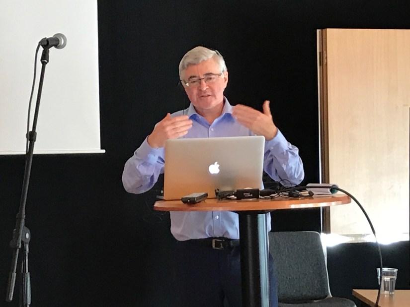 Gerard Quinn på sommarskolan 2018