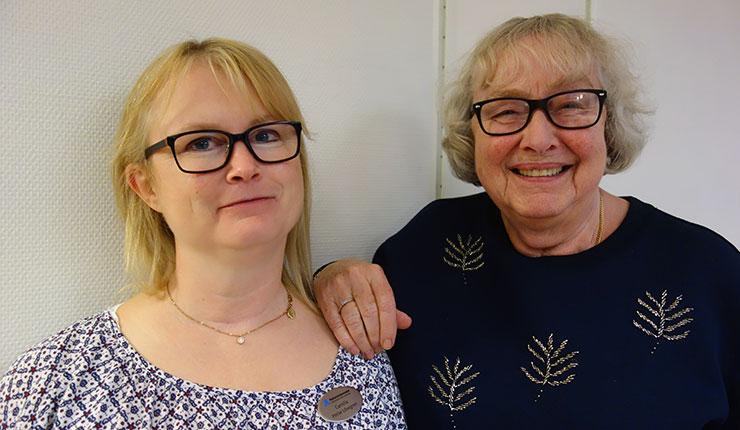 Camilla Heise Löwgren och Inge-Britt Lundin