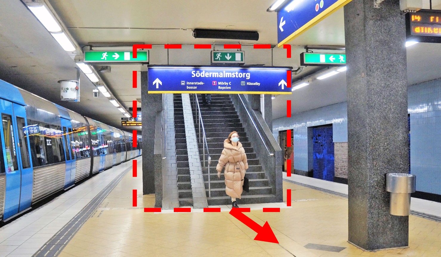 Tunnelbanenedgång