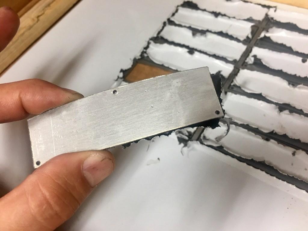 Sidewinder blades 430 stainless steel