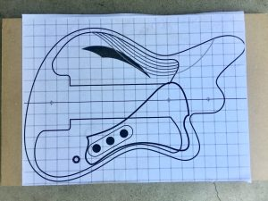 Laying out a new routing template