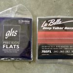 Bass Strings: GHS Precision Flatwounds s vs. LaBella 760FL's