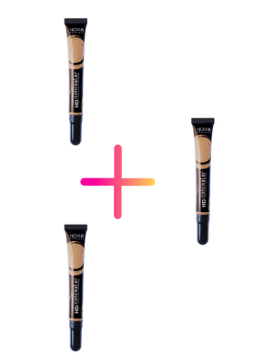 Nicka K New York HD Concealer – Set 3 Products
