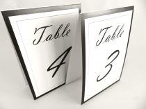Tent table numbers Vladimir script