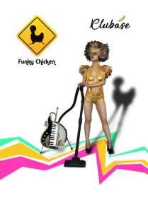 Funky Chicken Clubase wallpaper 640x920