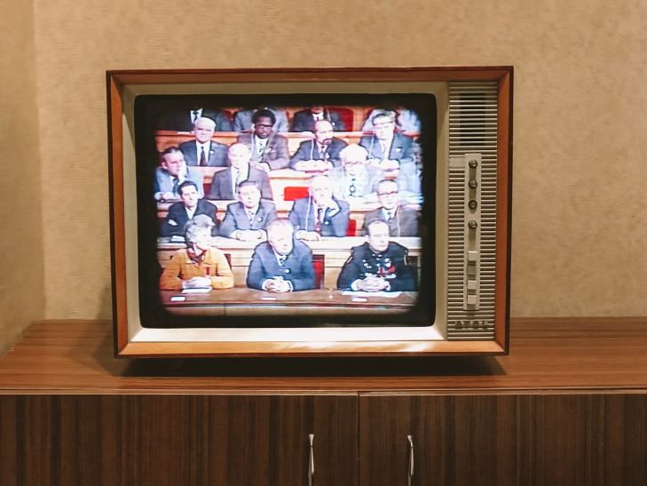 Old cathode ray TV by Jan Antonin Kolar