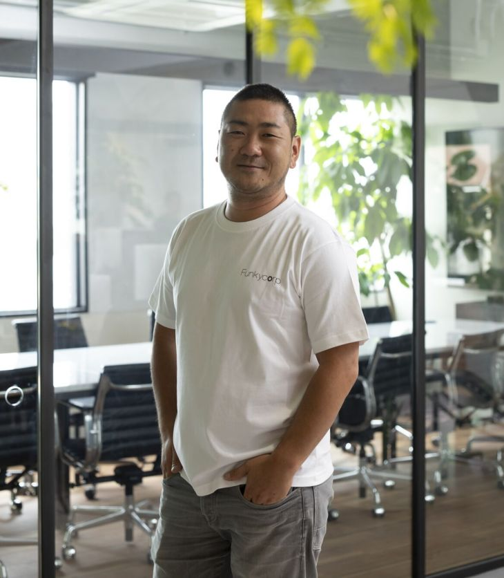 Funkycorp CEO Terumasa Mori