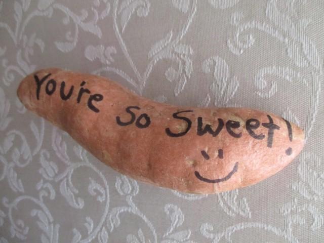 Photo: You're So Sweet - Sweet Potato Gram