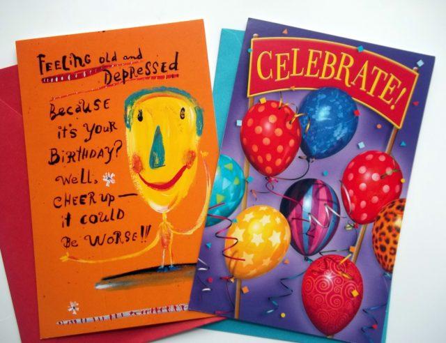 Birthday Card Glitter Bomb