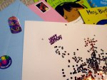 Fun Birthday Glitter Cards - Glitter Bomb
