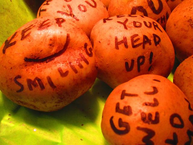 Potato Bouquet