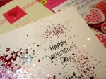 Fun Valentine Glitter Cards for All Ages