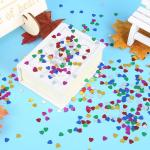 Heart Confetti for Cards