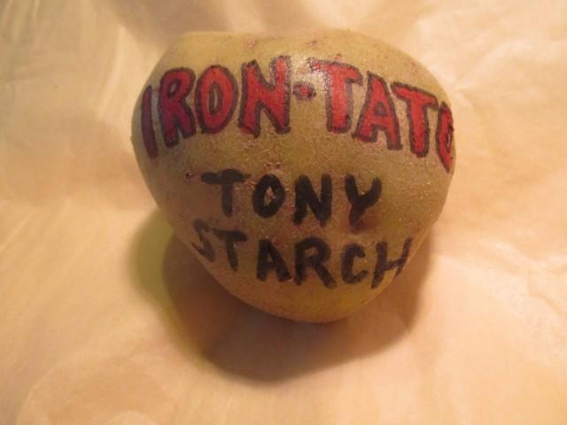 Iron Tato Tony Starch