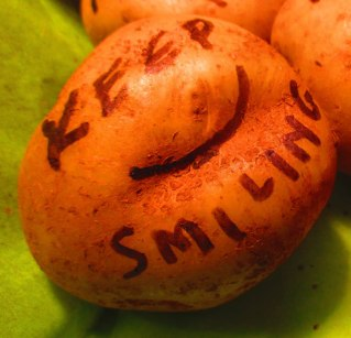 Keep Smiling Potato Bouquet
