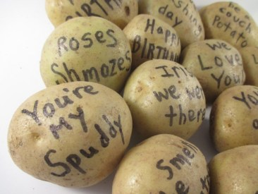 Happy Birthday - Send a Potato Bouquet