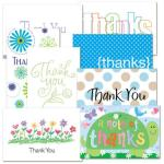 Kids Glitter Bomb Card Thank You