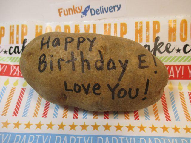 Happy Birthday Potato - Love You!