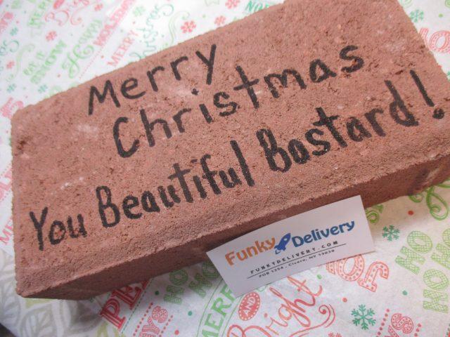 Merry Christmas Beautiful Bastard