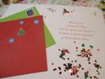 Glitter Bomb Christmas Card
